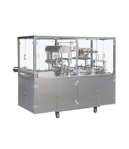 TB-400全自动透明膜三维包装机